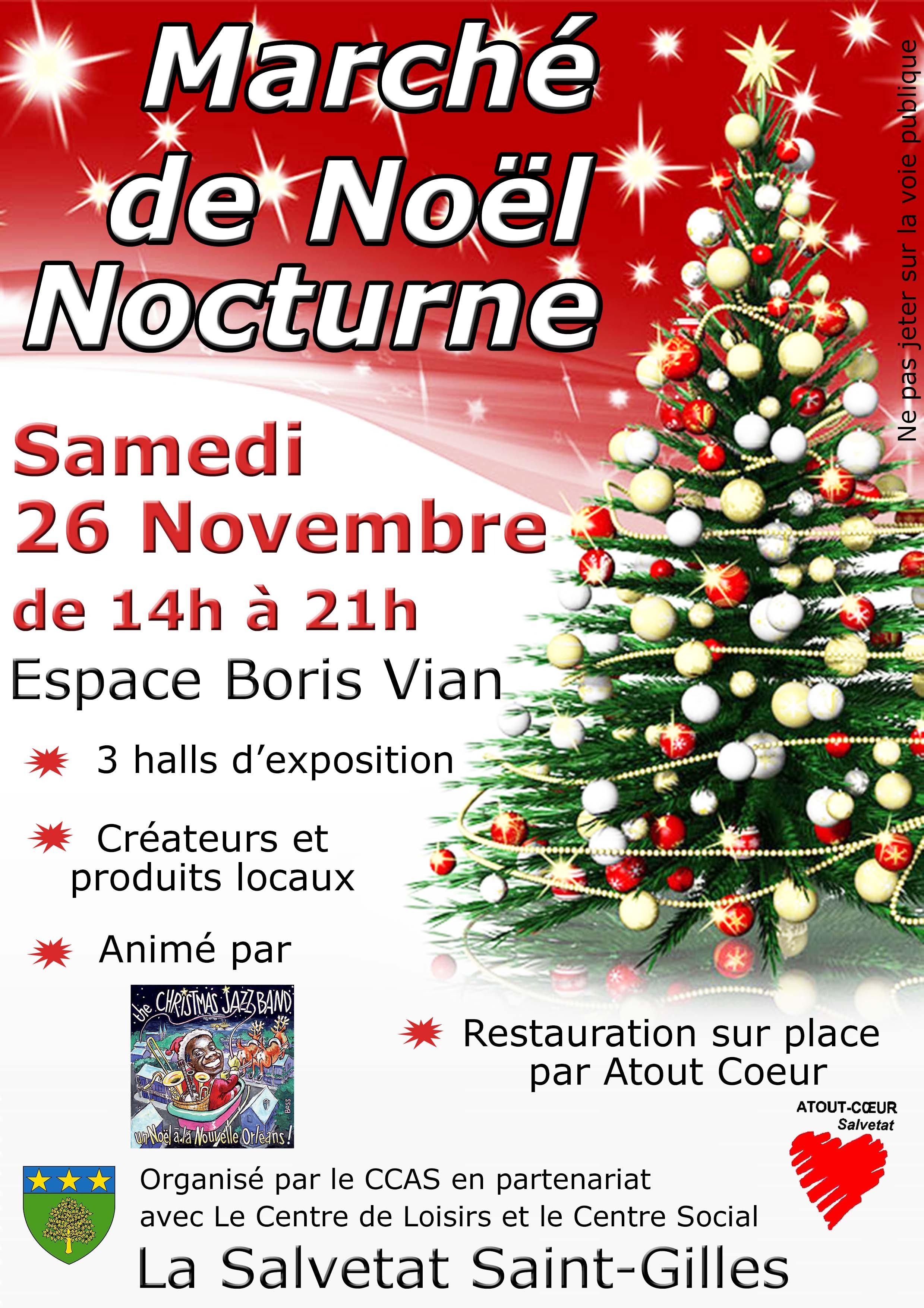 Souvent Marché de Noël - Site Officiel de La Salvetat Saint-Gilles KV22