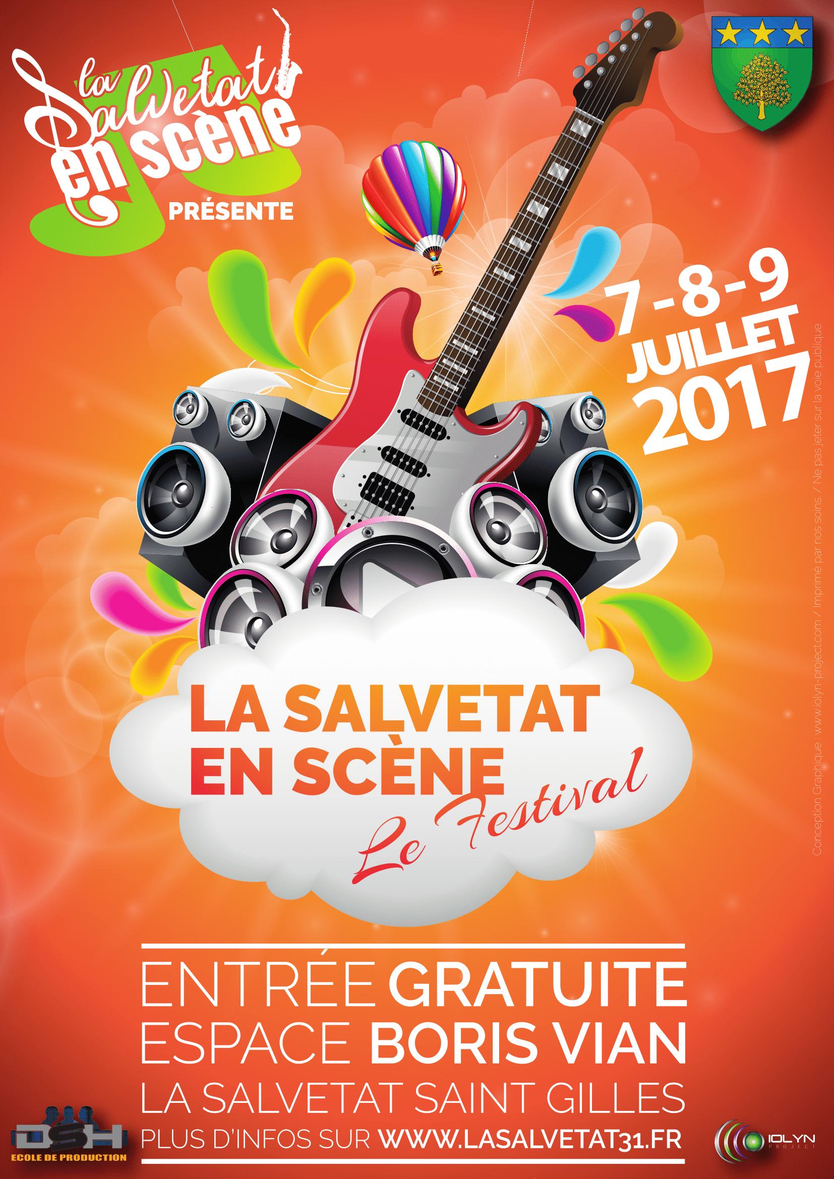 Festival La Salvetat En Scène : les 7, 8 et 9 Juillet 2017