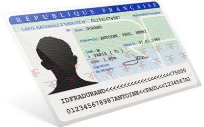 Cartes d'identité biométriques