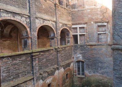Galeries sud et cour intérieure