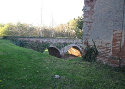 Pont d'accès nord (prise NE)