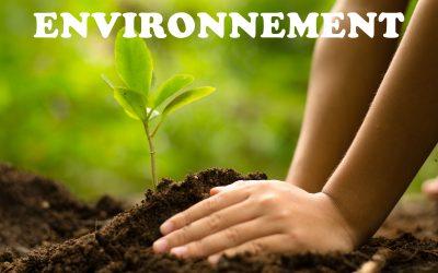 Environnement : nouveautés