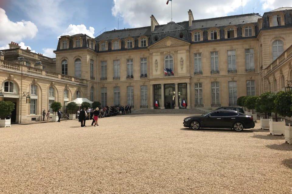 Le Château Raymond IV représenté à l'Elysée