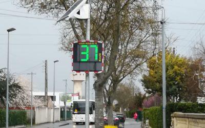 Prévention routière : des radars pédagogiques pour sensibiliser les conducteurs