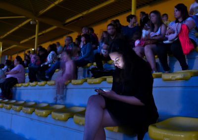 Cinéma en plein air - La Salvetat Saint-Gilles - Juin 2019 - Ph
