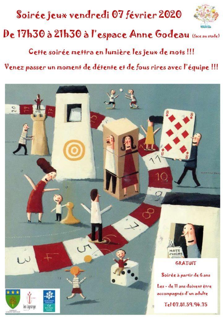 thumbnail of affiche soirée jeux fevrier 2020