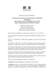 thumbnail of AP Pref31 alerte sanitaire 17.10.2020-1