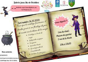 thumbnail of Flyer soirée jeux 1610